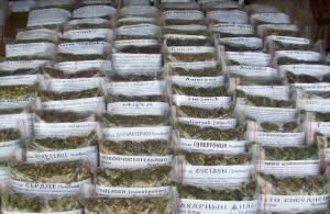 Лекарственные сборы и травы в упаковках