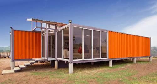 жилой дом из контейнера