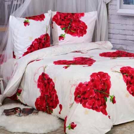Купить Комплект постельного белья Delsonno 1,5 сп (Поплин) Романтика