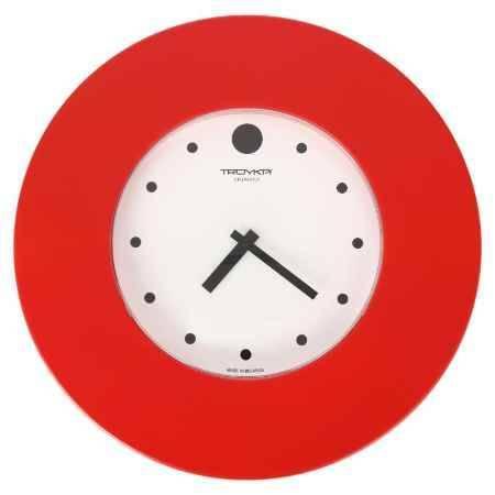 Купить Часы настенные Тройка, широкое красное кольцо