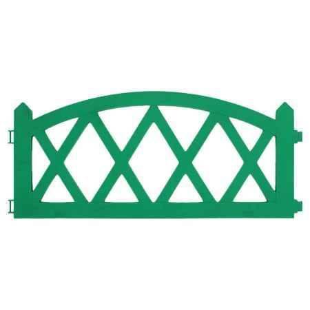 Купить Ограждение садовое Happy Time АРКА 2,4м, цвет зеленый