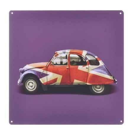 Купить Постер Феникс-Презент Автомобиль, 30x30см, из черного металла