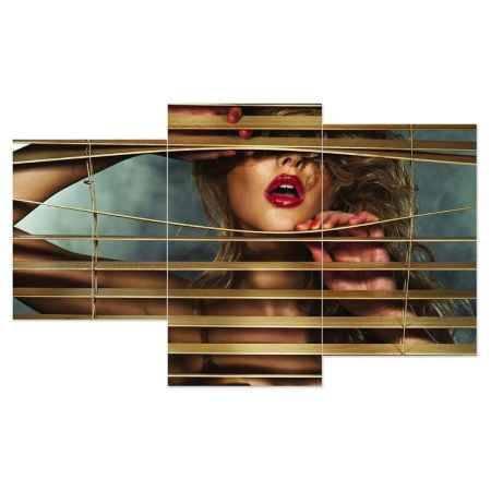 Купить Модульная картина Топпостерс, Жалюзи, 50x78 см, 3 части