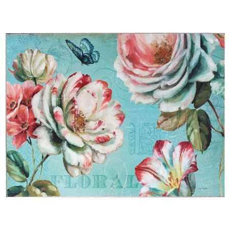 Купить Картина-репродукция Феникс-Презент Садовые цветы, 30x40x0.9 см, печать на бумаге, без рамки