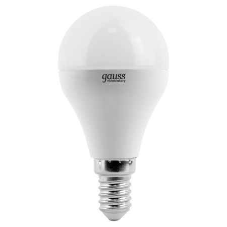 Купить Упаковка ламп 10 шт Gauss LED Elementary Globe 6W E14 4100K LD53126