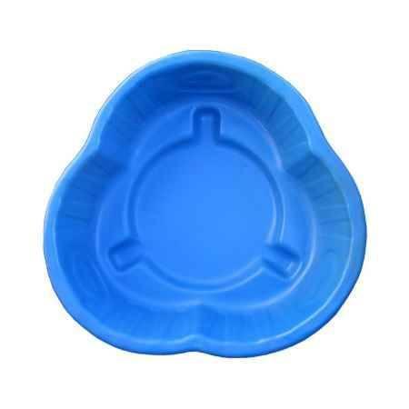 Купить Ваза Клумба Южная 210л, 98х96х30, цвет синий