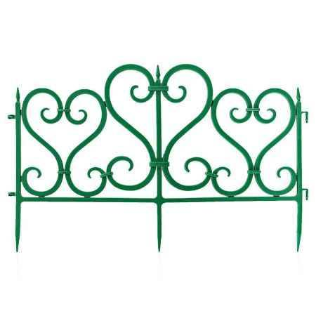 Купить Ограждение садовое Ажурное 3м, цвет зеленый