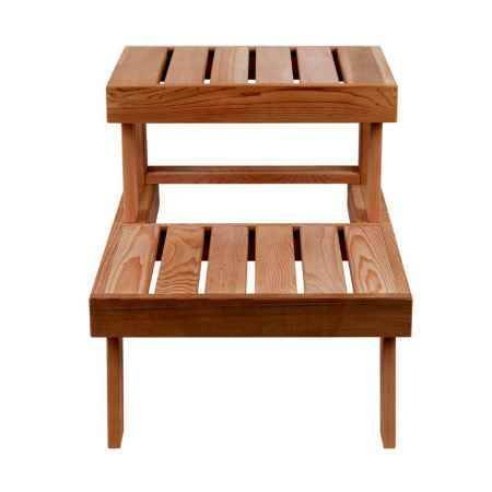 Купить Скамья для сауны SAWO 524-D, 535х850х780мм, кедр