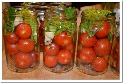 Как солить помидоры?