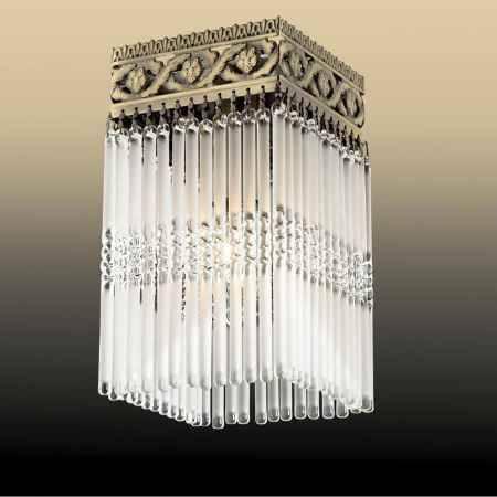 Купить Светильник потолочный ODEON LIGHT 2557/1C ODL13 029, E14 40W 220V KERIN, бронза