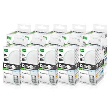 Купить Упаковка ламп светодиодных 10 шт Camelion LED11-A60/845/E27