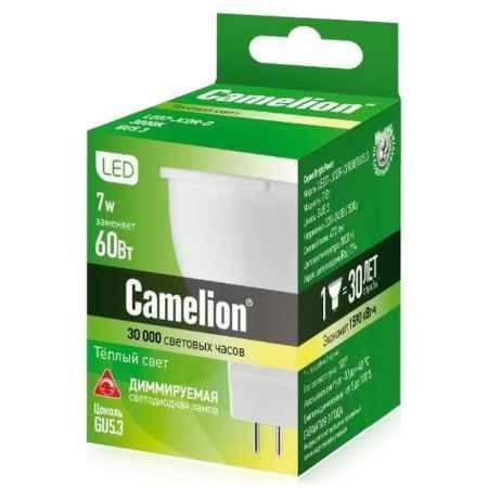 Купить Упаковка ламп светодиодных 10 шт Camelion LED JCDR 7Вт, 470Лм, 830, 220В, GU5.3