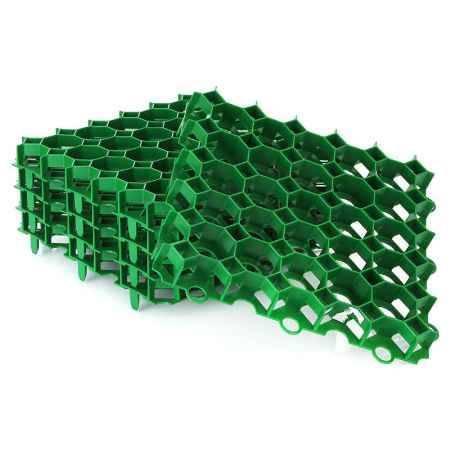 Купить Газонная решетка Happy Time 38,5х38,5см, упаковка 5шт, 0,74м2