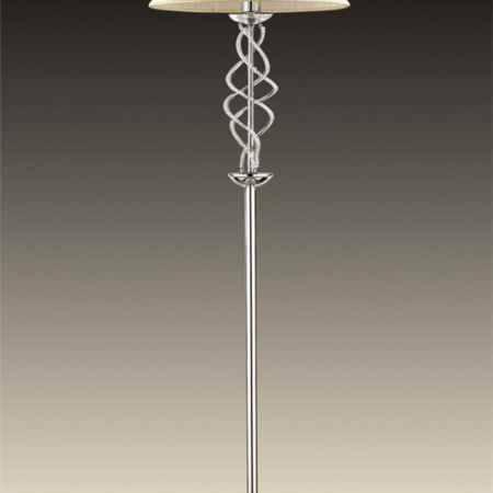 Купить Торшер ODEON LIGHT 2611/1F ODL14 119, E27 60W 220V Alta, хром/абажур/хрусталь