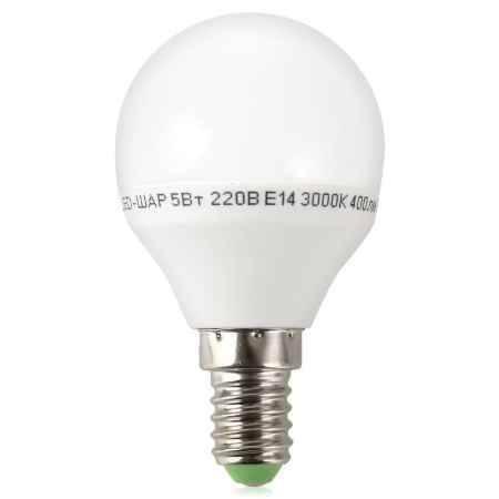 Купить Упаковка ламп светодиодных 10 шт ASD LED-ШАР-standard 5.0Вт 160-260В Е14 3000К 400Лм