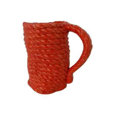 Купить Ваза декоративная Феникс-Презент керамическая 14x8,8x14см, красный
