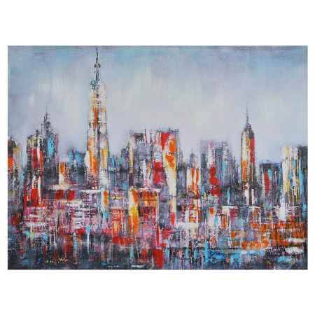 Купить Картина-репродукция Феникс-Презент Мегаполис, 60x80x2.5 см, без рамки
