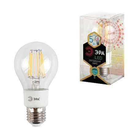 Купить Упаковка ламп 3 шт ЭРА F-LED A60-5w-827-E27 (10/50/1200)