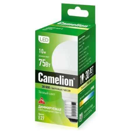 Купить Упаковка ламп светодиодных 10 шт Camelion LED A60 10Вт, 790Лм, 830, 220В, E27
