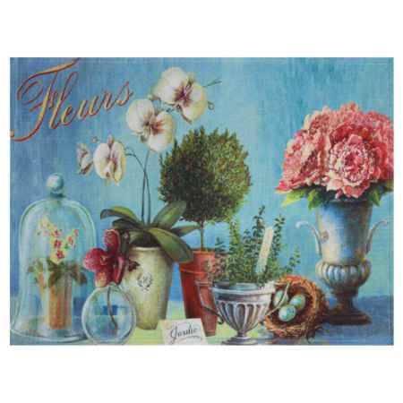 Купить Коврик для входной двери Феникс-Презент Цветы, 60x45см