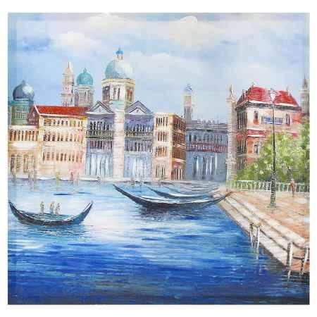 Купить Картина-репродукция Феникс-Презент Венеция весной, 50x50x2.5 см, без рамки