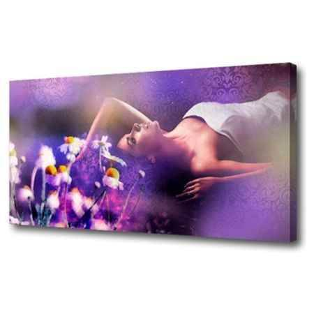 Купить Холст Топпостерс, Фиолетовые сны, 50х100 см