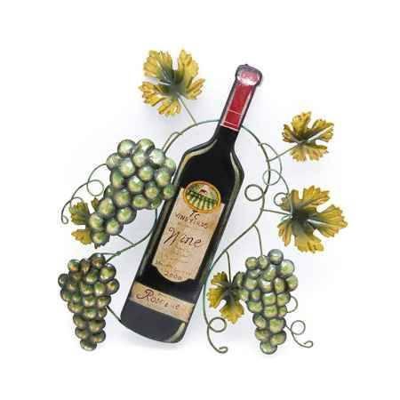 Купить Панно декоративное Интер Керамикс, Зеленый виноград, 37 см