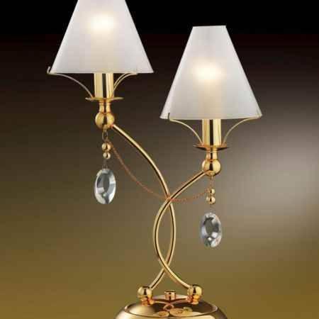 Купить Светильник настольный ODEON LIGHT 2121/2T ODL11 097, E14 2*60W 220V LINO, золото