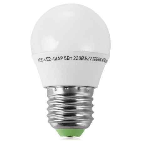 Купить Упаковка ламп светодиодных 10 шт ASD LED-ШАР-standard 5.0Вт 160-260В Е27 3000К 400Лм