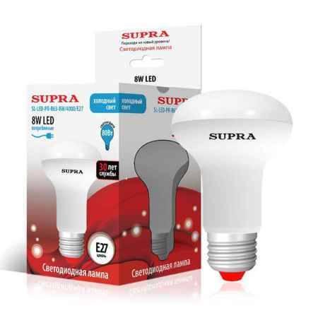 Купить Упаковка ламп 10 шт SUPRA SL-LED-PR-R63-8W/4000/E27