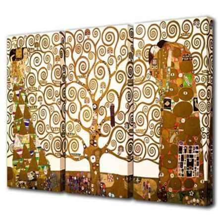 Купить Модульная картина Топпостерс, КЛИМТ, 150х90 см, 3 части