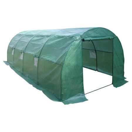 Купить Теплица с пленкой FORHEAD 6м, TGH-01, 600(Д)х300(Ш)х200(В)см, цвет зеленый