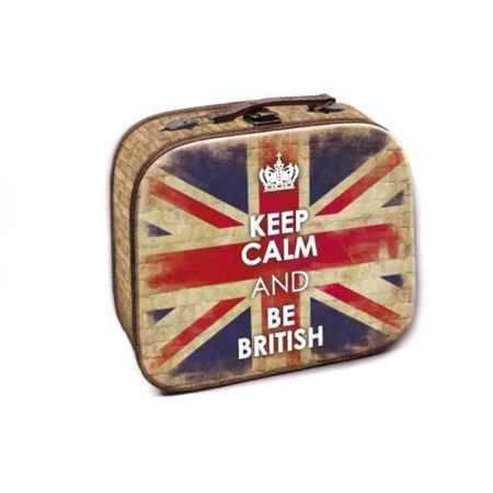 Купить Шкатулка декоративная Феникс-Презент Британский флаг, 28,5x25x10,5 см