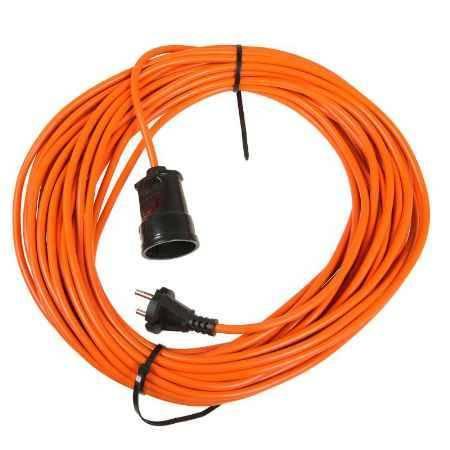 Купить удлинитель 20 метров,1 розетка б/з, LUX УС1-0-20 (У-101)