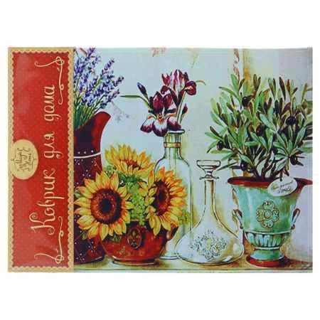Купить Коврик для входной двери Феникс-Презент Цветы в кувшинах, 60x45см