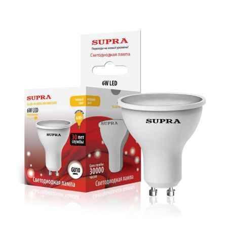 Купить Упаковка ламп 10 шт SUPRA SL-LED-PR-MR16-6W/3000/GU10