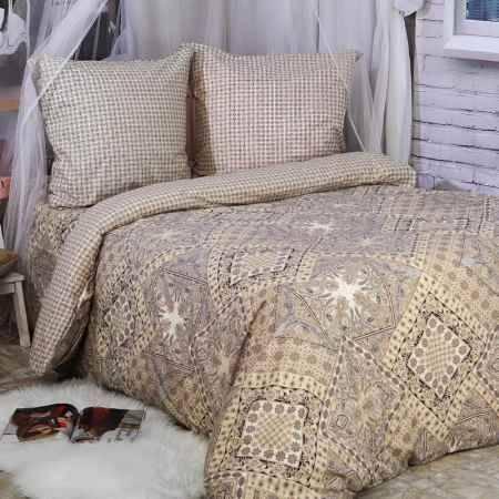 Купить Комплект постельного белья Delsonno cемейный Без ШВА (Поплин) Италия