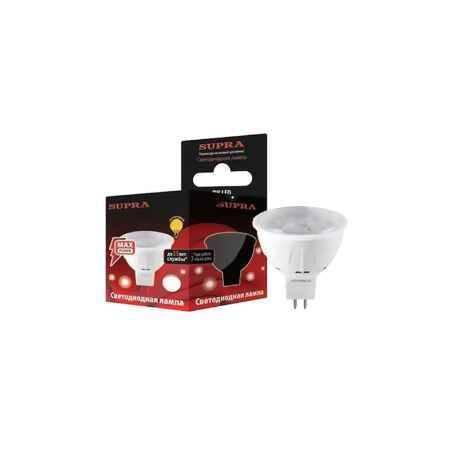 Купить Упаковка ламп 10 шт SUPRA SL-LED-MR16-8W/2700/GU5.3-CL