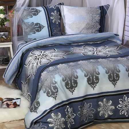 Купить Комплект постельного белья Delsonno 2 сп Без ШВА (Поплин) Итальянская розетка