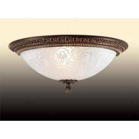 Купить Светильник потолочный ODEON LIGHT 2587/1W ODL14 043, E27 3*40W 220V Maipa, бронзовый/белый