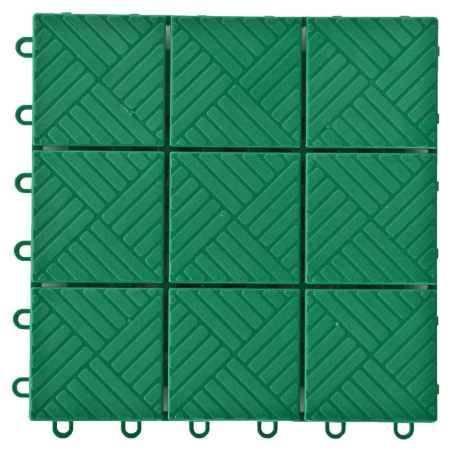Купить Покрытие садовое Модуль, 1м.кв, цвет зеленый