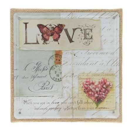 Купить Постер Феникс-Презент Любовь, 20x20см, в рамке