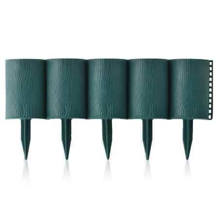 Купить Ограждение садовое Садовый конструктор 0,15х3м, цвет зеленый