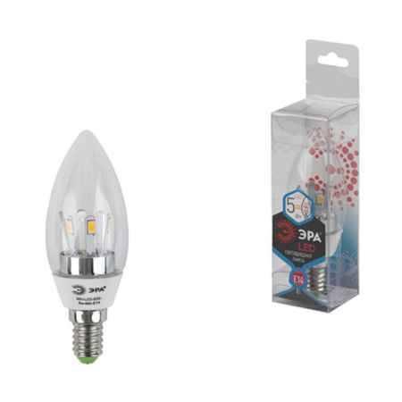 Купить Упаковка ламп 3 шт ЭРА 360-LED B35-5w-840-E14 (10/50/2450)