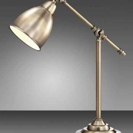 Купить Светильник настольный ODEON LIGHT 2412/1T ODL13 881, E27 60W 220V CRUZ, бронзовый