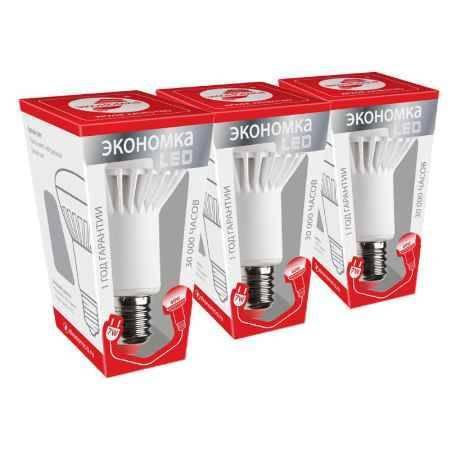 Купить Упаковка ламп 3 шт ЭКОНОМКА РЕФЛЕКТОР R63 7Вт Е27 230v белый свет (4500K)
