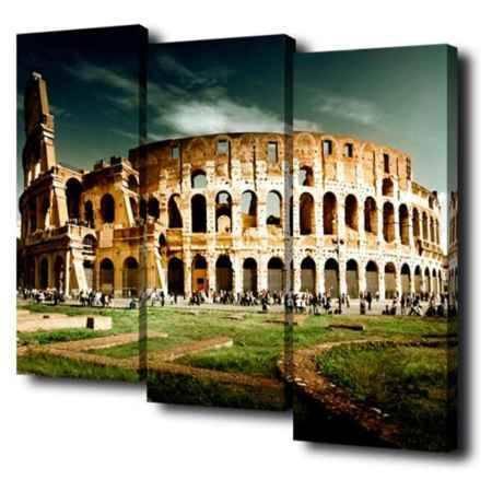 Купить Модульная картина Топпостерс, Колизей, 150х110 см, 3 части