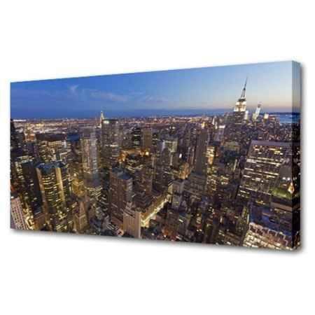 Купить Холст Топпостерс, Город мира II, 60х120 см
