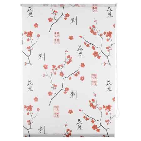 Купить Штора рулонная Уют Япония 8912, 80х175 см, цвет белый