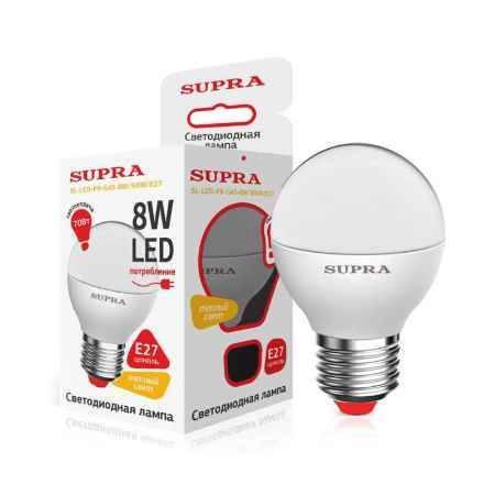 Купить Упаковка ламп 10 шт SUPRA SL-LED-PR-G45-8W/3000/E27
